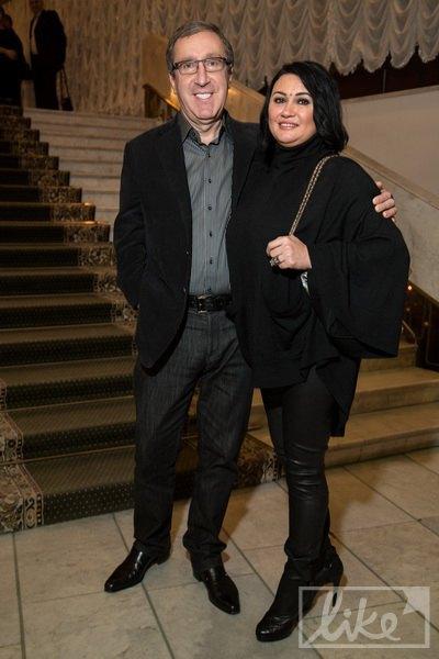 Николай Баграев с женой