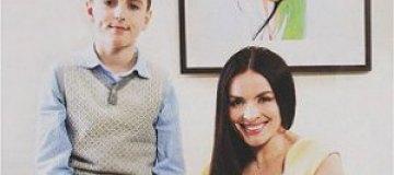Мейхер похвасталась 12-летним сыном
