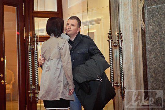 Телеведущий Юрий Горбунов