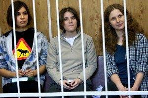 """В Сочи арестовали участниц """"Pussy Riot"""""""