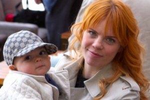 Анастасия Стоцкая показала сына