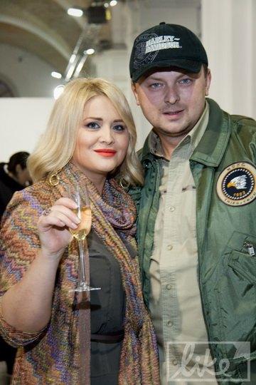 Сын Софии Ротару Руслан Евдокименко с женой Светланой