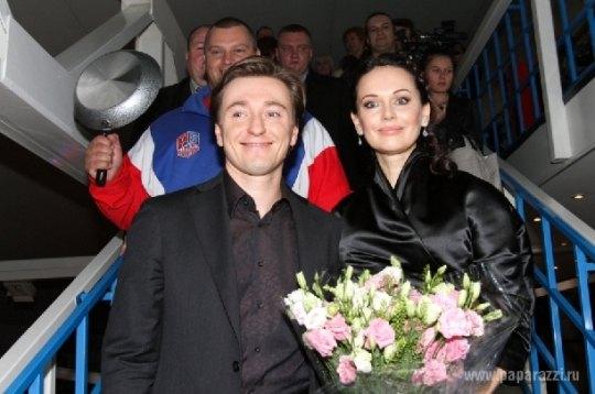 """Сергей и Ирина Безруковы на премьере """"Реальной сказки"""""""