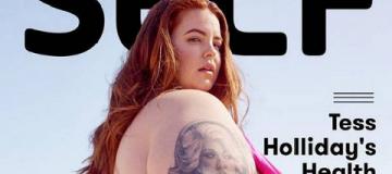 Самая пышнотелая модель в мире появилась на обложке журнала о здоровье