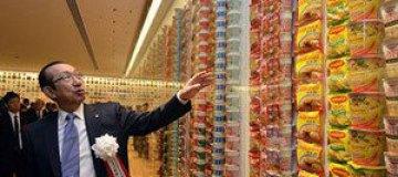 В Японии открыли музей лапши быстрого приготовления