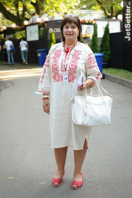Экс-министра финансов Наталия Яресько была в патриотичном наряде