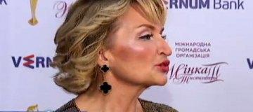 Похудевшая и помолодевшая Ирина Луценко получила премию