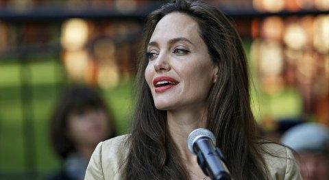 Джоли стала блогером и упомянула Украину