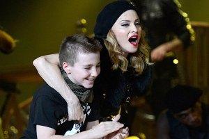 Мадонна поиздевалась над собственным сыном в телепрограмме