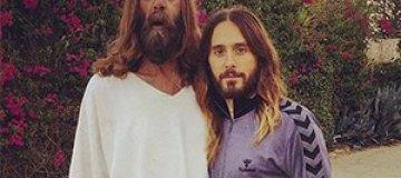 Джаред Лето сфотографировался с Иисусом