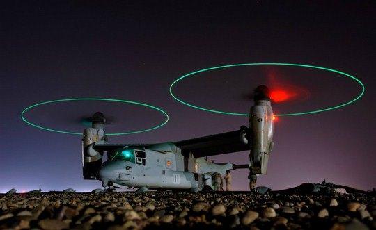 Джо Кейн, «Самолет V-22 Osprey на взлете»