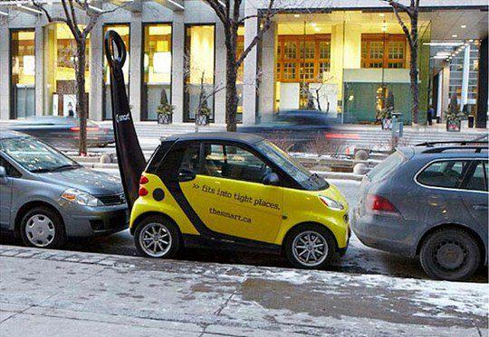 Автомобили Smart: Рожок для обуви