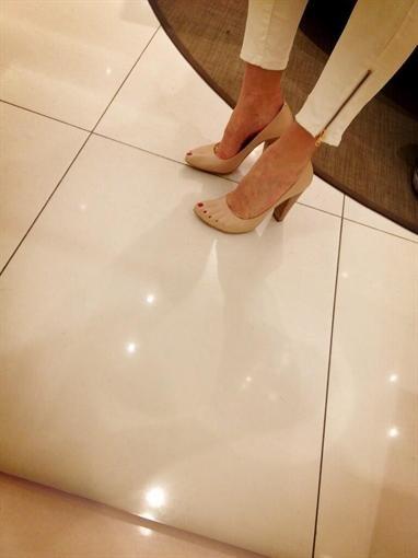 "Алена Водонаева купила туфли ""с пальцами"""
