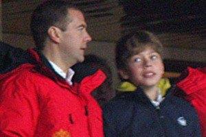 Сын Медведева собрался поступать на юриста