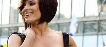 Надежда Мейхер-Грановская на пятом месяце беременности