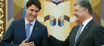 Канадский премьер Джастин Трюдо выбрал для встреч в Киеве оригинальные носки