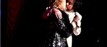 Билык поцеловалась с Киркоровым