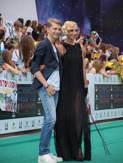 Кристина Орбакайте с сыном
