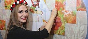 Украинские звезды собрали полотно мира