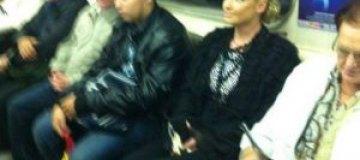 Волочкова не знает, как купить билет в метро