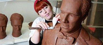 В Британии создали шоколадного Бенедикта Камбербэтча