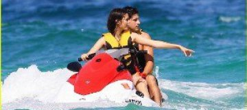 Виктория Джастис с парнем отдохнула в Майами