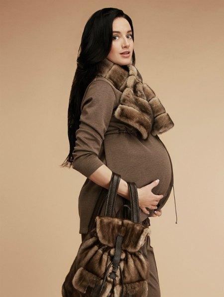 Валерия Коновалюк сама же и прорекламировала одежду собственного дизайна