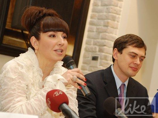 Елена Стаценко и Оливье Адам