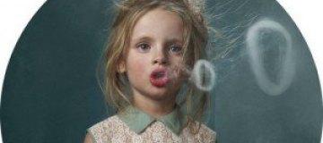 Курящие дети Фрике Янссенс