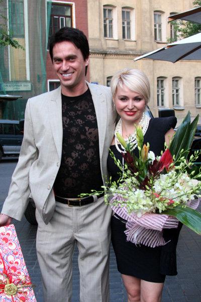 Катя Лель с мужем Игорем Кузнецовым