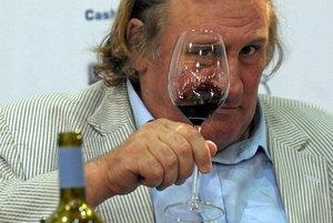 Депардье купил виноградники в Крыму