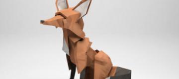 Оригами-животные Джереми Кула