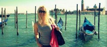 Арина Домски отдохнула в Италии