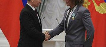 Леонтьев получил медаль от Владимира Путина