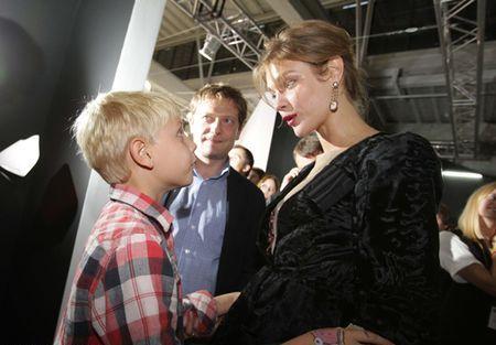 Лукас взахлеб делился с мамой впечатлениями