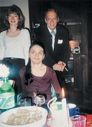 Баталов с бывшей женой и дочерью Машей