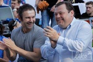 Вакарчук с женой и Садовой пришли на открытие джазового фестиваля во Львове