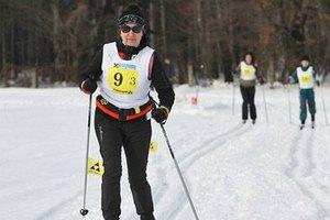 Герега приняла участие в лыжных соревнованиях