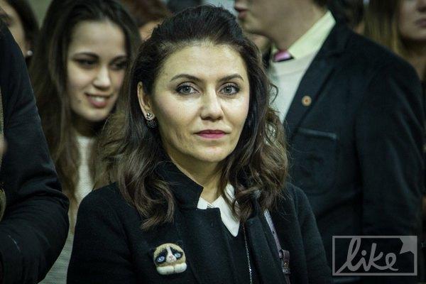 Супруга Вакарчука Ляля Фонарева