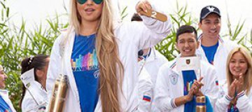 """Виктория Петрик: """"Нас не заставляли носить форму с российским флагом"""""""