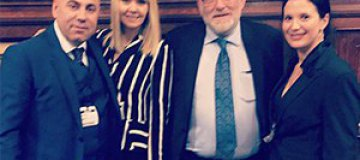 Британский парламент поблагодарил Валерию за концерт