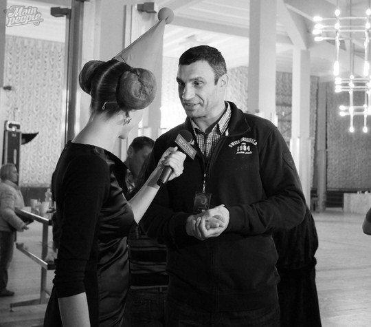 Катя Осадчая и Виталий Кличко