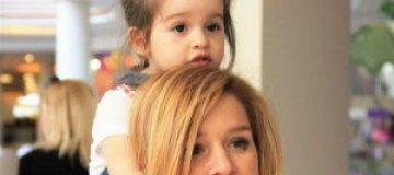 Ксения Бородина ведет блог от имени двухлетней дочери
