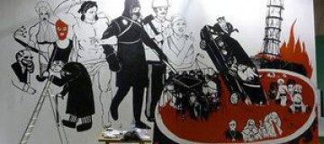 Перед визитом Януковича в Мистецьком Арсенале уничтожили картину