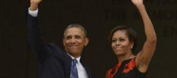 Мишель и Барак Обамы возглавили американский «рейтинг восхищения»