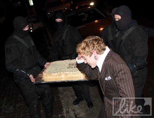 День рождения Александра Кривошапко