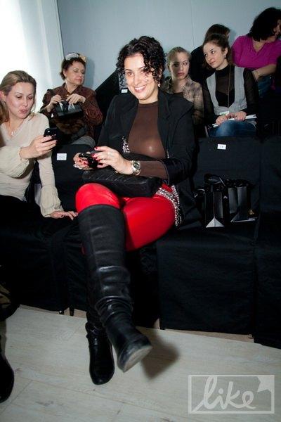 Телеведущая и владелица модельного агентства Маша Манюк