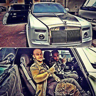 Тимати похвастался роскошным автомобилем