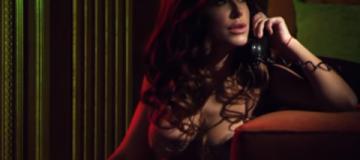Ани Лорак в одном белье снялась в клипе Бадоева