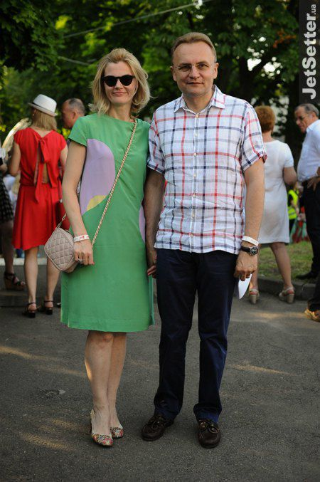 Андрей Садовой вывел в свет жену Екатерину